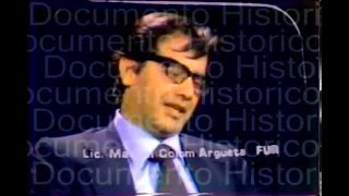 Documental de Manuel Colom Argueta
