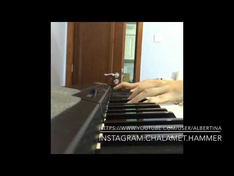 A very short Piano Cover of Timothée Chalamet's part on Call Me By Your Name
