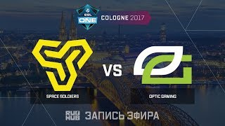Space Soldiers vs OpTic Gaming - ESL One Cologne 2017 - de_mirage [CrystalMay, sleepsomewhile]