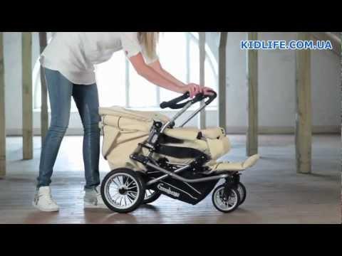 Emmaljunga Nitro City - Видео обзор прогулочной коляски