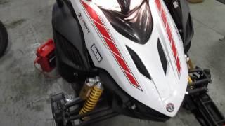 2. YAMAHA APEX GT 2008