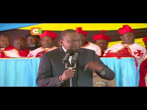 Rais Kenyatta aagiza maafisa wa NTSA kuondoka barabarani (видео)