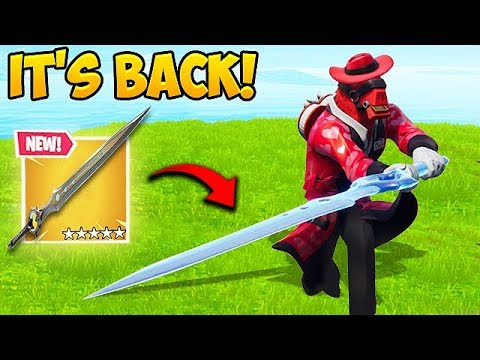 Reddit funny - *INFINITY SWORD* IS BACK! - Fortnite Funny Fails and WTF Moments! #472