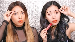 First Impression PEEL OFF Makeup !!! by Promise Tamangphan