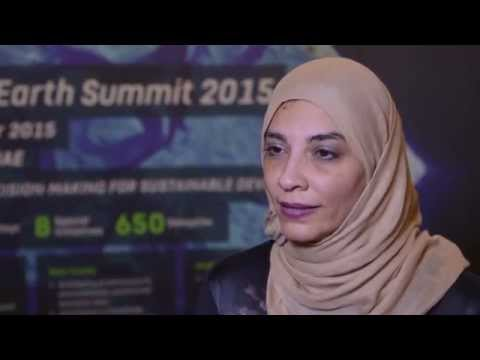 Eye on Earth Summit 2015 - Interview with Saudi Delegate