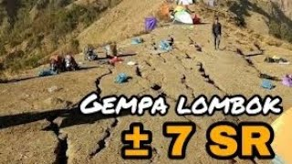 Video Tragedi Gempa Lombok ± 7 SR | (5/8) MP3, 3GP, MP4, WEBM, AVI, FLV Agustus 2018