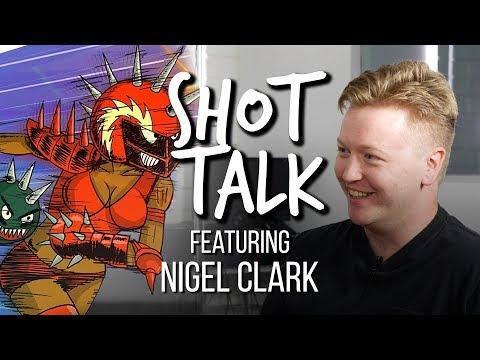Shot Talk #19 - Nigel Clark - Ballmastrz: 9009, Nerdland, Moonbeam City, China IL, Superjail