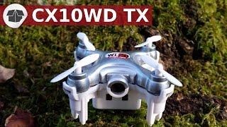 Le CX10 WD le plus petit drone au monde avec maintien d'altitude - CX 10 WD  - CX10WD TXClique ici pour t'abonner ► https://goo.gl/PkIcj8 (merci)DRONE :Le CX10 WD, vous pouvez le trouver ici : http://bit.ly/CX-10WD_BanggoodIl est livré avec radiocommande (mode : RTF) et sans radiocommande (mode : BNF).CX-10WD vs CX-10W.  Différence entre CX10WD vs CX10. Unboxing des CX10 :- Cx10C  ici : https://www.youtube.com/watch?v=YejtOUJNET8&t=169s- CX10W ici : https://www.youtube.com/watch?v=WbsfpjTFvLU►Pour acheter le CX-10WD, vous pouvez le trouver ici : http://bit.ly/CX-10WD_Banggood►Pour acheter le CX-10W  , vous pouvez le trouver ici : http://bit.ly/cx10w8Banggood►Pour acheter le CX-10C, vous pouvez le trouver ici : http://bit.ly/CX10C-Banggood►Pour acheter le CX-10A, vous pouvez le trouver ici : http://bit.ly/CX10A-BanggoodLe CX-10WD en mode RTF et BNF est livré avec un chargeur et des hélices supplémentaires. Il est vraiment incroyable le CX 10WD ou CX-10WD, il porte aussi le nom de CX 10WDTX ou CX-10WDTX .C'est un mini quad avec caméra intégrée au drone, un retour fpv sur le téléphone et le maintien de l'altitude. Le CX 10-WD est le plus petit drone fpv avec maintien d'altitude au monde. Le CX-10-WD wifi c'est QuadCopter. Ce QuadCopter le plus petit drone avec le maintien d'altitude du monde RC.On peut saluer la prouesse de miniaturisation de ce CX10-WD camera, fpv et maintien d'altitude, mais adjoindre une caméra, au détriment des performances en vol, c'est un compromis à faire. Le résultat est un gadget vraiment sympa.En matière de RC, l'objectif de filmer des images exploitables et celui de prendre du plaisir à piloter, est en général bien distinct et il est difficile de concilier les deux. Or, la taille du CX-10WD est plus adaptée au second qu'au premier. Une caméra FPV change totalement l'expérience du pilotage._______________________________Pour faire les lunettes VR ou vos lunettes immersions vous-même, vous pouvez suivre les instructions de Google ici : http://