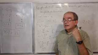 Algebra Intermedia - Lección 35 - B (resolviendo Ecuaciones Cuadráticas, Completando El Cuadrado)