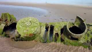 Aberlady United Kingdom  city photos gallery : Aberlady Bay,X Craft submarine