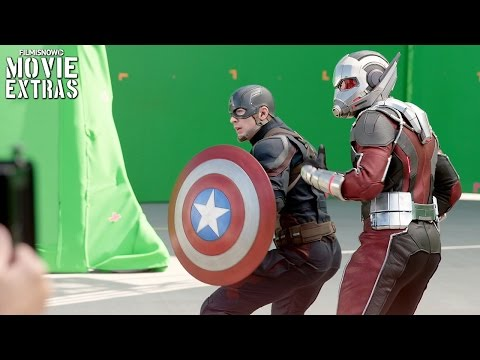 Go Behind the Scenes of Captain America Civil