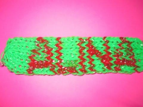 Плетение имен из резинок на станке