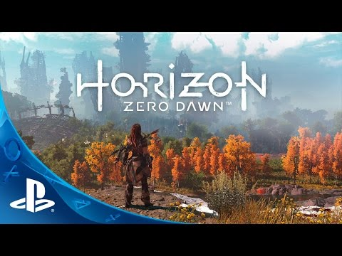 Horizon Zero Dawn a video game Featuring People Hunting Robotic Monsters in a Lush PostApocalyptic