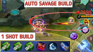 Video 1 SHOT BUILD | AUTO SAVAGE BUILD | WTF PLAY | MOBILE LEGENDS MP3, 3GP, MP4, WEBM, AVI, FLV November 2018