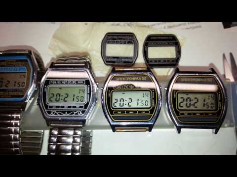 мои часы Электроника (видео)