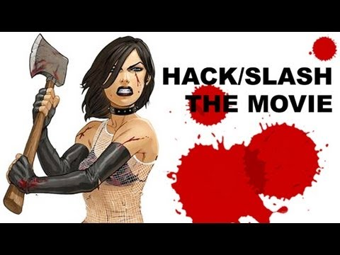 hack and slash - Hack / Slash is going to be a movie! Yes, the Hack / Slash comic written by Tim Seeley and with art by Emily Stone is going to be a movie, and Beyond The Tra...