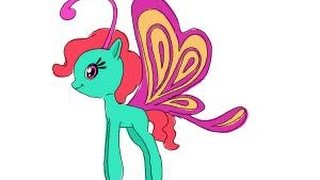 How To Draw Cloudia Breezie From My Little Pony Friendship Is Magic