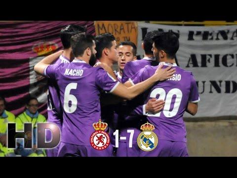 Cultural Leonesa vs Real Madrid 1-7 All Goals & Extended Highlights Copa del Rey 26/10/2016 HD 720p