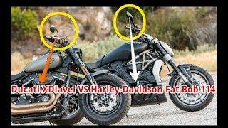 7. Bruiser Cruisers Ducati XDiavel Vs Harley Davidson Fat Bob 114