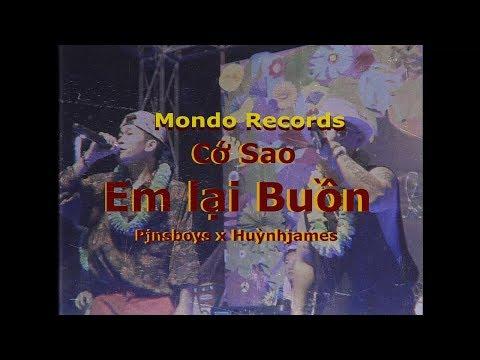 [LIVE] CỚ SAO EM LẠI BUỒN - Pjnboys x Huỳnh James x 3G Band - Thời lượng: 3 phút và 17 giây.