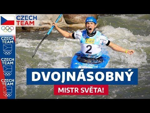 UŽ DVOJNÁSOBNÝ šampion na kajaku Jiří Prskavec u mikrofonu!