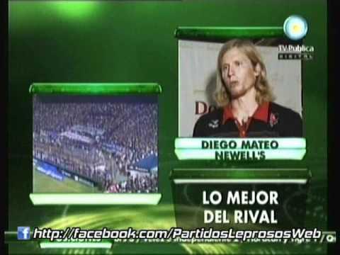 Diego Mateo en la Previa de Tigre - Newell's