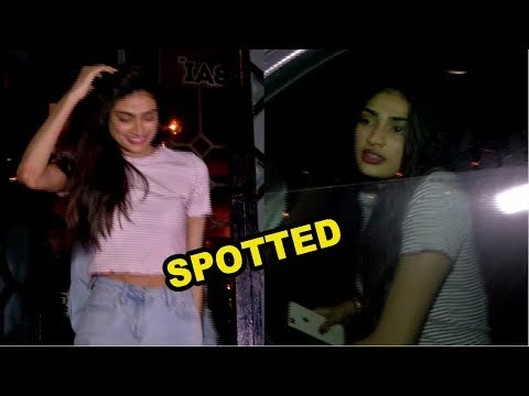 Athiya Shetty Spotted At Korner House