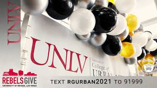 #RebelsGive to Support the Greenspun College of Urban Affairs