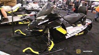 9. 2019 Ski Doo MXZ Blizzard 600 Sled - Walkaround - 2018 Toronto ATV Show