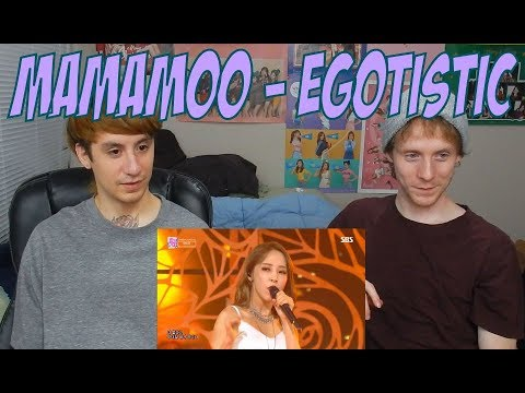 Mamamoo - Egotistic [Live Stage Performance Reaction]