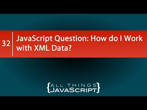 Video JavaScript Question: How do I Work with XML Data? download in MP3, 3GP, MP4, WEBM, AVI, FLV January 2017