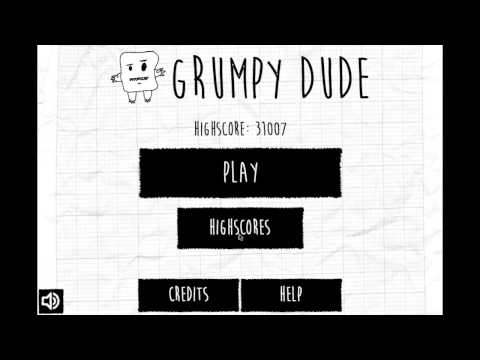 Video of Grumpy Dude