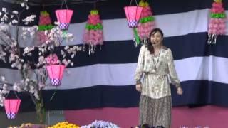 羽黒の桜まつり5・千恵子唱・ChiekoYamada