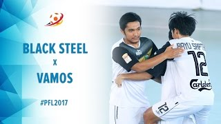 Video Black Steel Manokwari (3)  VS (5) Vamos Mataram - Pro Futsal League 2017 MP3, 3GP, MP4, WEBM, AVI, FLV Juni 2017