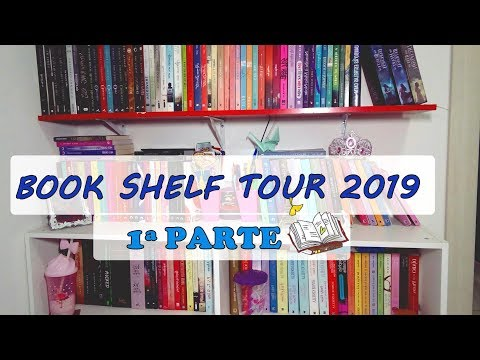 BOOK SHELF TOUR  2019 | 1ª Parte |  Leticia Ferfer | Livro Livro Meu