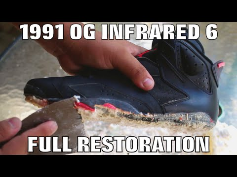 OG 1991 INFRARED 6 FULL RESTORATION