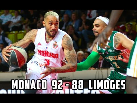 Pro A — Monaco 92 - 88 Limoges — Highlights