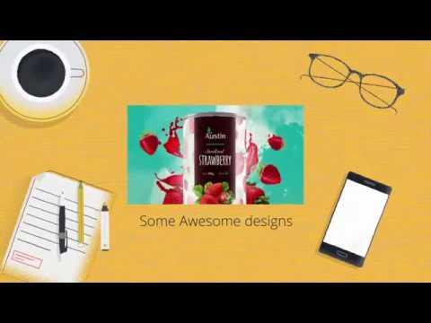 Divyen Bhadeshiya Branding Agency Work video tutorial
