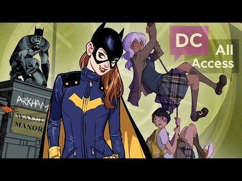 coming - Batgirl! Gotham Academy! Lobo! What should we expect from this fall's new comics and creative teams? We don't know...so we spoke with someone who does! In this exclusive DC All Access Comic-Con...