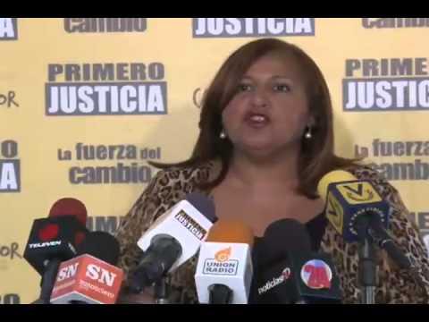 Dinorah Figuera: El gobierno trata de criminalizar a quienes piensan distinto, pero no nos callarán