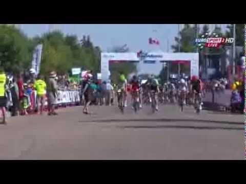 Druhá etapa Okolo Alberty, víťazstvo pre Sagana