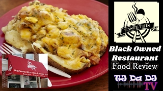 Taste This Baltimore (Harford Rd., Baltimore, MD) Black Owned Restaurant Review (TJ Da DJ TV)