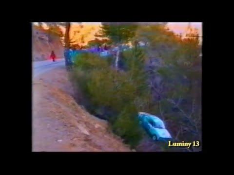Rallye de Vaison La Romaine 1996 Crash and Show