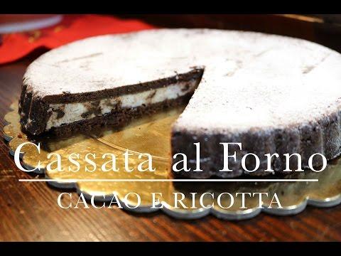cassata al forno con cacao e ricotta - ricetta