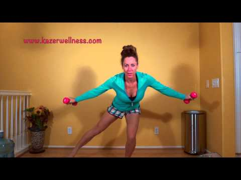 BeautyBooties - Orange County Nutritionist http://www.dianekazer.com In this video, Orange County Nutritionist Diane Kazer shows you a fun and functional move to work your g...