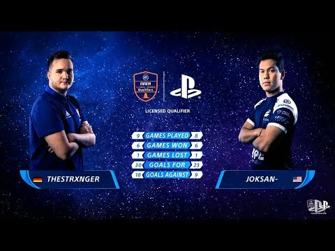 THESTRXNGER VS JOKSAN - GRAND FINAL - FIFA 19 Continental Cup 2018
