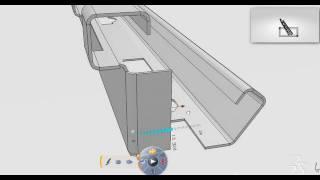 CATIA Sheet Metal Conceptual Design CATIA Bend Part Design Auto