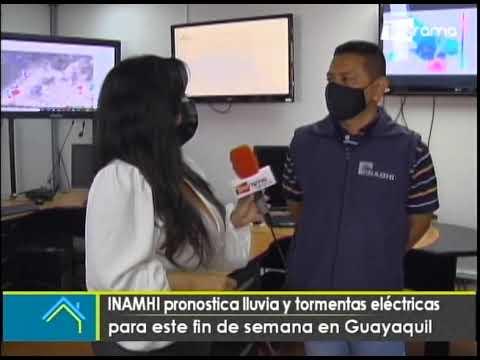 INAMHI pronostica lluvia y tormentas eléctricas para este fin de semana en Guayaquil
