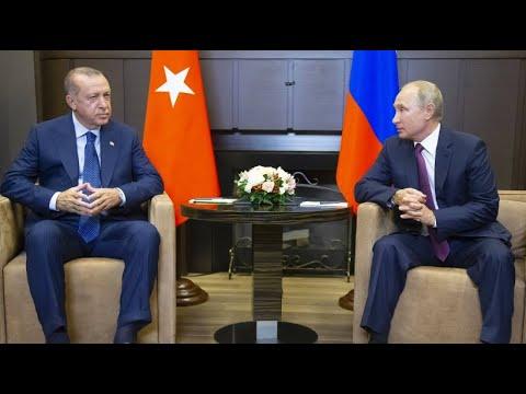 Putin und Erdogan einig: Entmilitarisierte Zone für ...
