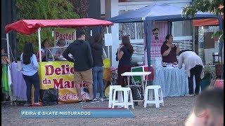 Prefeitura de Bauru cria feira ao lado de Pista de Skate para evitar vandalismo